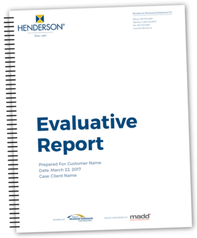 Cover of an Evaluative Report